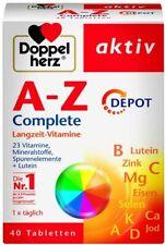 Doppelherz A-Z Complete DEPOT Langzeit-Vitamine ? 23 Vitamine, Mineralstoffe & S