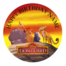 The Lion Guard Personalised Cake Topper Edible Kids Party Decoration King