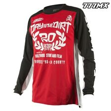 2018 FASTHOUSE DITD CLASSIC RED JERSEY MOTOCROSS MX MEDIUM *IN STOCK*