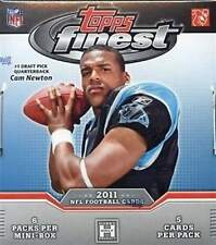 2011 Topps Finest Football Factory Sealed Hobby Box - 2 Autographs Per Box
