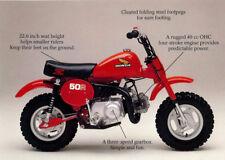 1981 HONDA Z50R MINI MOTOCROSS MOTORCYCLE BROCHURE -Z 50 R-HONDA Z50 MONKEY BIKE
