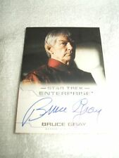 Star Trek Autograph Card Enterprise Bruce Gray as Surak