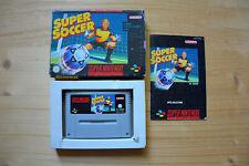 SNES - Super Soccer - (OVP, mit Anleitung)