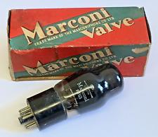 MARCONI KT63 Black Glass Ring Getter Valve/Tube (V15)