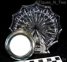 Waterford Signed Crystal Round Picture Frame (FF)