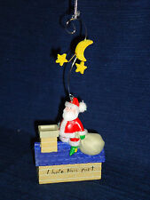 Murray's Law Christmas Ornament w/Box SANTA ON ROOFTOP CHIMNEY I hate this part