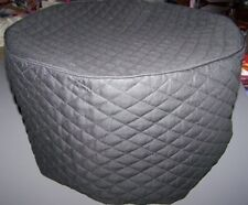 Oval Black Quilted Fabric Cover for 6 Quart Ninja Cooking System New