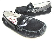Umi Toddler'S Morie Moccasin Black Suede Casual Loafer Eur Sz 26/ Us Sz 9 Medium