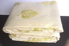 "New Laura Ashley Burnham Olive Green Curtains 78"" X 90 Long 198cm x 229cm Huge"