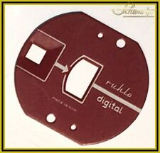 CULT! Ruhla Digital Dial Face Red Direct from GDR Production No Replica