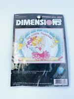 Dimensions Our Little Princess Counted Cross Stitch Kit Ballerina 5X7 New Sealed