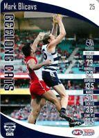✺Mint✺ 2020 GEELONG CATS AFL Card MARK BLICAVS Teamcoach