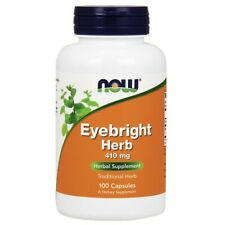 Now Foods Eyebright Herb 410 mg - 100 Veg Capsules FRESH, FREE SHIPPING
