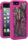 I5-SMPC-204 Impact Gel Xtreme Armour Phone Case for iPhone 5 - Pink Camo
