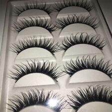 Thick Beauty Mini Best Quality Fake 5 Pairs Makeup Handmade False Eyelashes