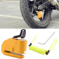Anti Theft Motorcycle Alarm Disc Lock Brake Motorbike + Free Reminder Cable 1.5M