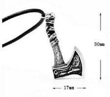 Celtic Axe Pendant Viking Necklace Ladies Mens Pagan Norse