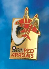 ROYAL AIR FORCE, RAF RED ARROWS, LIMITED EDITION PIN BADGE, OFFICIAL, NEW SEALED