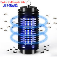 ELECTRONIC UV INSECT KILLER ELECTRIC ULTRAVIOLET MOSQUITO PEST FLY BUG ZAPPER j$