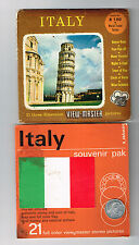 Souvenir Pack - B 180 S4 - ITALY - View-Master | Buy 3 or More For Free Shipping