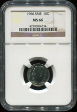 1966 SMS 10C MS 66 NGC USA coin