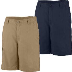 "New Mens Columbia ""Turner Falls"" UPF 15 Omni-Shade Cotton Blend Short Inseam 10"""