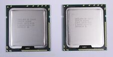 2x Intel XEON E5640 SLBVC Quad Core CPU 4x 2,66 GHz CPU 1366 4 Core Matched Pair