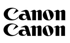 CANON DECAL, VINYL STICKER, (BUY 1 GET 2) FREE SHIPPING