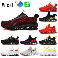 Men's Blade Pumps Trainers Fitness Mesh Sports Running Gym Casual Sneakers Shoes