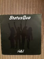 Status Quo - Hello! - VINYL (6360 098) - Spaceship  Excellent Vinyl