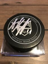 Anze Kopitar Signed LA Kings Official game Puck