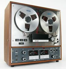 TEAC A-4010S REEL TO REEL TAPE DECK w TAPES SERVICED * NICE!