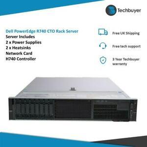 Dell PowerEdge R740 CTO Rack Server 8 x SFF Drive Bays H740P Enterprise Licence
