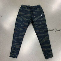 NWT Nike AH6166-010 Men Sportswear Flight Tech Pants Trousers Camo Black Size S