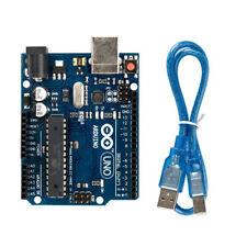 UNO R3 Atmega16u2 AVR USB Cable & Pins Compatible Board Module for Arduino