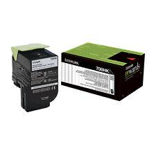 1x Lexmark Genuine 70C8HK0 HiYield Black Toner For CS510 CS410 CS310 4,000 Pages
