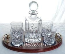 Contemporary Reproduction Decanter Crystal & Cut Glass Objects