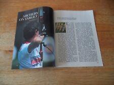 Archers sur cible vintage magazine article 8 5 A U