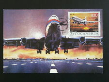 aircraft Douglas DC10 maximum card Yugoslavia 86085