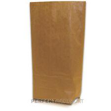 1000Stück Nr.3040-Papiertüten braun flach  8,5x11,5cm