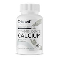 OSTROVIT VITAMIN D3 + K2 CALCIUM 90 CAPS BONE HEALTH WITAMINA MENACHINON