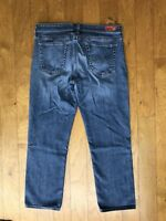 """ADRIANO GOLDSCHMIED AG """"The Stevie Crop"""" Slim Straight Crop Jeans ~ Sz 30 R"""