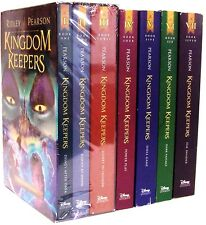 Kingdom Keepers Boxed Set 1-3 + 4,5,6,7 by Ridley Pearson (7 Paperback Set)