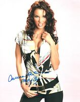 Carmella DeCesare Signed Photo 8x10 #33B Playmate of the Month April 03 WWE S.I.