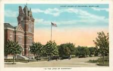 Michigan, MI, Escanaba, Court House 1920's Postcard