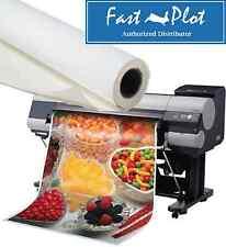 Latex Printable Poly Vinyl Banner Roll Polypropylene 42 X100ft Shipped Free