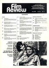 FILM REVIEW MAGAZINE 1979 AUG TOM BERENGER, WILLIAM KATT, ALI MACGRAW,