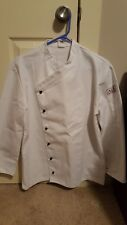Angelica Chef Coat Double Breasted Removable Button