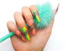 Hand Painted False Nails / Press on nails