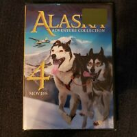 Alaska Adventure Collection 4 movies Coll. (DVD, 2014)Brand new, free shipping